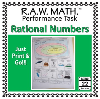 Rational Numbers Real World Performance Task