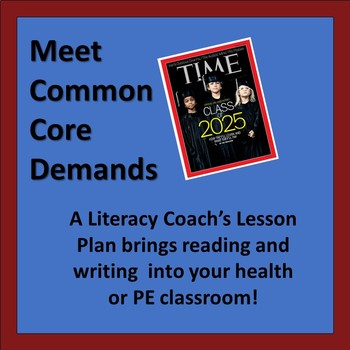 Real World Reading Lesson for Health & PE