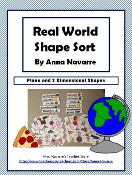 Real World Shape Sort