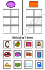 Real World Shape Sorting Folder Game for students with Autism