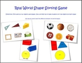 Real World Shape Sorting Game