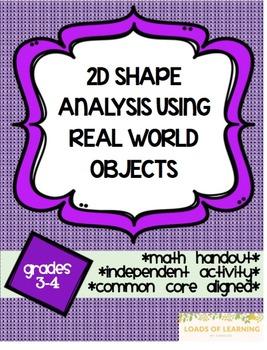Real World Shapes Analysis