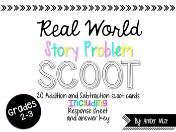 Real World Story Problem Scoot
