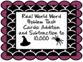 Real World Two Step Word Problem Task Cards: Addition and