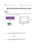 Real-World Volume Performance Task