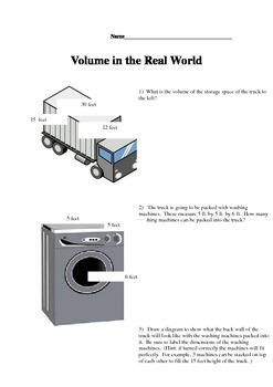 Real World Volume Problems