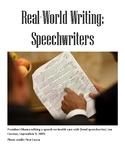 Real-World Writing: Speechwriting