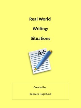 Real Writing- Surviving Real Life (manual, pamphlet, college essay, letters)
