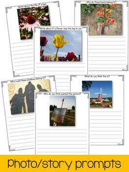Real Writing: Writing Prompts for Spring