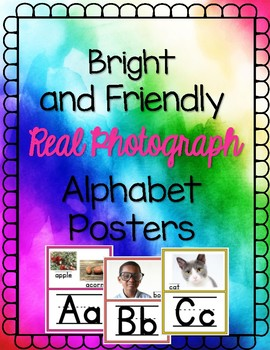 Real and Bright Alphabet Posters