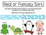 Real and Fantasy Sort