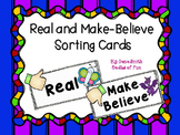 Real and Make Believe Sorting Cards