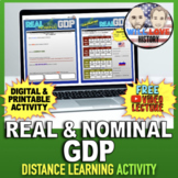 Real and Nominal GDP Activity