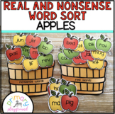 Real and Nonsense Word Sort Apples