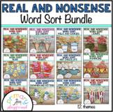 Real and Nonsense Word Sort Bundle