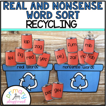 Real and Nonsense Word Sort Recycling