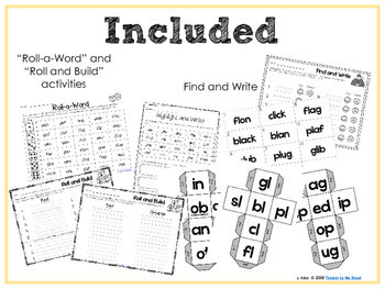 Real and Nonsense Words: L Blends