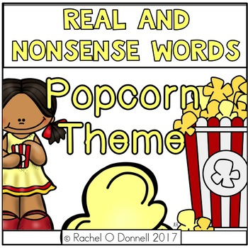 Real and Nonsense Words Popcorn Theme