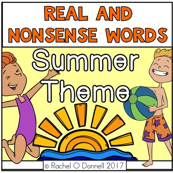 Real and Nonsense Words Summer