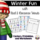Real and Nonsense Words:  Winter Fun!