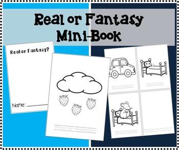 Real or Fantasy Mini-Book