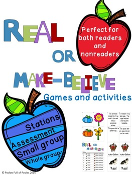 Real or Make-Believe? Games and Activities for Early Learners