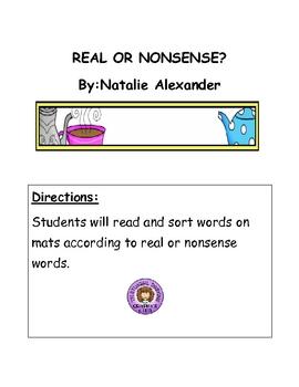 Real or Nonsense?