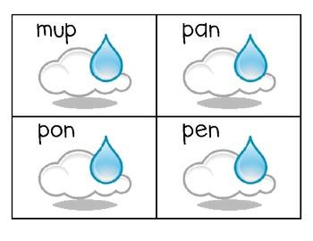 Real or Nonsense Raindrops Freebie