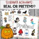 Halloween Teaching Story & Activities:  Real or Pretend?