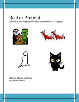 Real or Pretend Sorting (pre-reading)