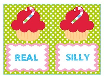 Real or Silly Words - CVC words