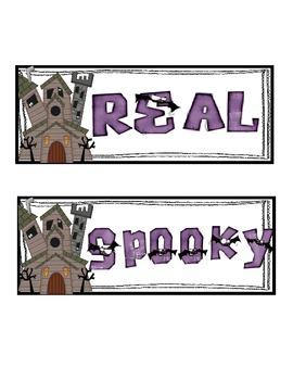 Real or Spooky (Non Sense) L Blend Sort