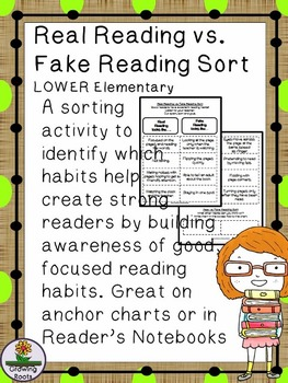 "Real Reading vs.""Fake Reading"" Sort"