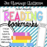 Real vs. Fake Reading | Student Designable Bookmarks