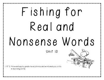 Real vs. Nonsense Word Decoding Practice 10