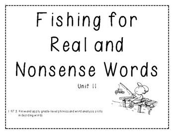 Real vs. Nonsense Word Decoding Practice 11