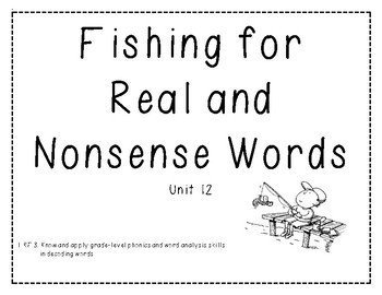 Real vs. Nonsense Word Decoding Practice 12
