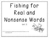 Real vs. Nonsense Word Decoding Practice 3
