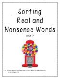 Real vs. Nonsense Word Decoding Practice 7