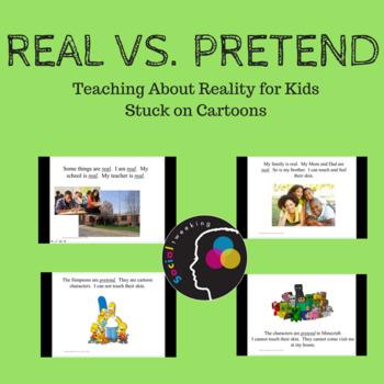Real vs. Pretend: Getting Stuck on Cartoons