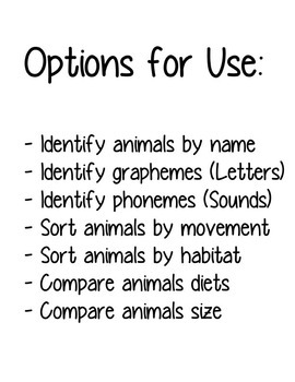 Realia Photo Animal Flash Cards - Farm (Free!)