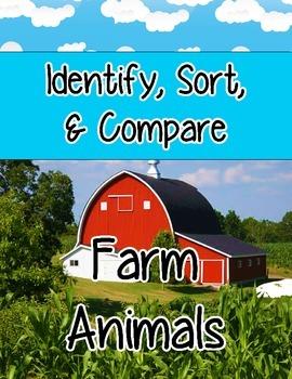 Realia Photo Farm Animals Extended Flash Card Activity