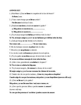 Realiades 2, Chapter 4B. Reciprocal actions. Quiz / Activity