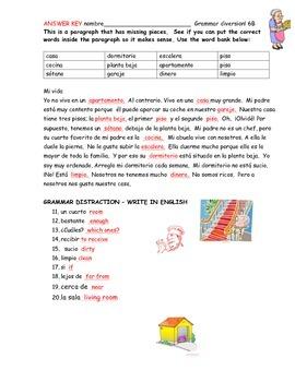 Realidaded 6B vocabulary worksheets (2)