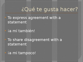 Realidades 1 - 1A Me gusta vocab PowerPoint