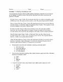 Realidades 1 1A Reading Comprehension Quiz