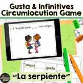 Spanish 1 game La Serpiente: activities, infinitives, gustar
