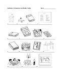 Realidades 1 2A Vocabulary Identification Practice/Quiz