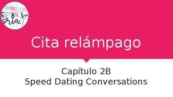Realidades 1 2B Cita Relámpago - Speed dating conversations PPT