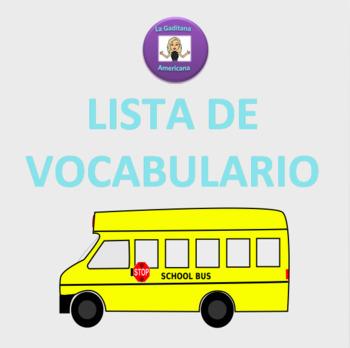 Realidades 1: 2B Lista de vocabulario